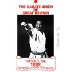 KUGB 1988 Championships Programme