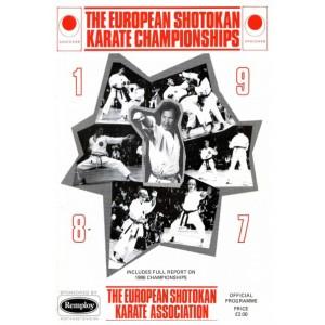 1987 ESKA Championships Programme
