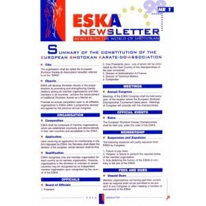 1998 ESKA Newsletter Issue 01